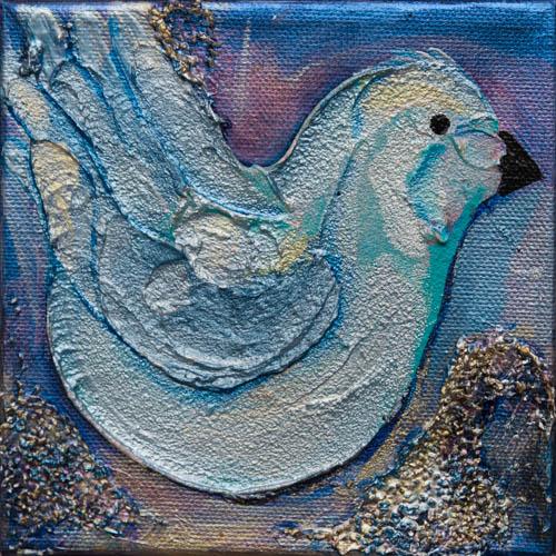 """""""Bluebird"""" 6x6"""