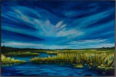 """""""Layton River"""" 24x36"""