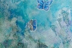 """""""Penny's Butterflies"""" 12x12"""