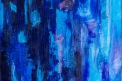 """""""A Taste of Blue"""" 24x24"""