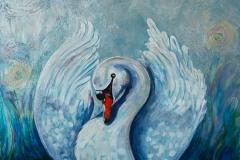 """""""Swan"""" 18x24"""